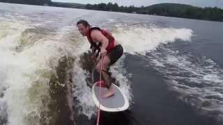 Dave Wake Surfing July 2013