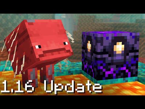 100 Updates NEW in Minecraft 1.16 (Nether Update)