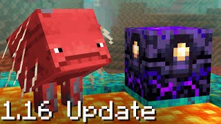 100 Updates NEW in Minecraft 1.16 (Nether Update)