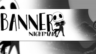 BURTON´S NIGHTMARE BANNER TEMPLATE ||  [LINK IN DESC] By JarryS