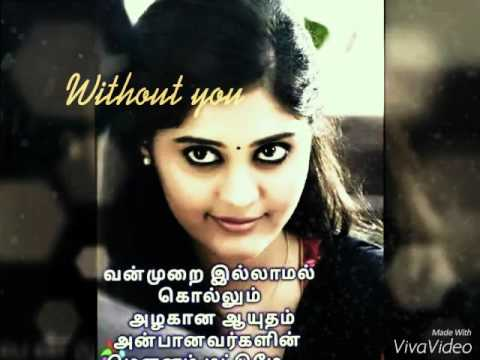 Best Tamil Love Songunnoduthaan Kanaavile Youtube