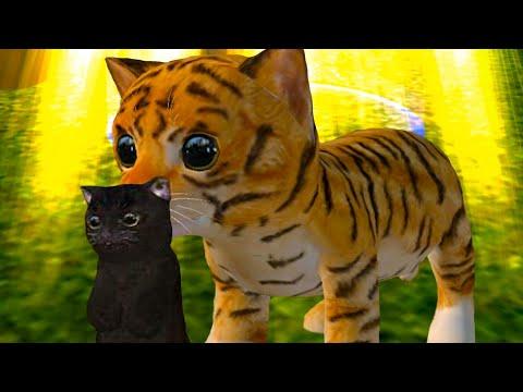 Симулятор Кота Жизнь Животных #2 Кошка Кида родила маленького котенка в Cat Simulator Animal Life