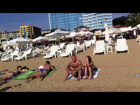Болгария, Золотые пески (Golden Sands) пляж
