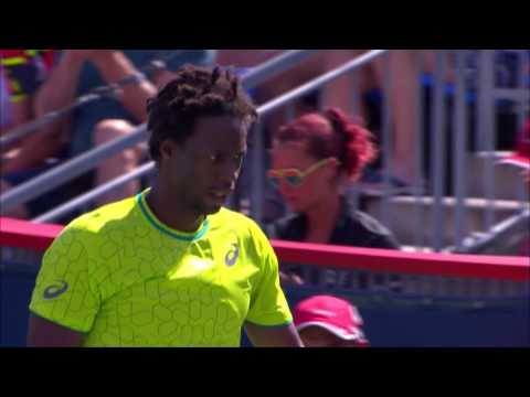 Monfils saves match points en route to dramatic win over Nishikori in Montreal