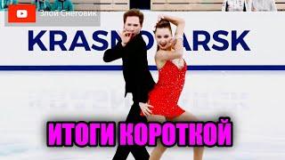 ИТОГИ ПРЕРВАННОГО ТАНЦА Танцы на Льду Юниорское Гран При в Красноярске 2021