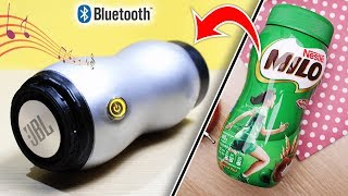 How to make JBL Boombox Bluetooth Speaker from Bottle