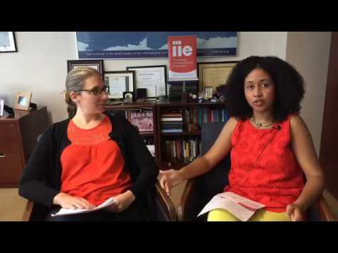 IIE Office Hours Episode 1: Globally Mobile Youth Report