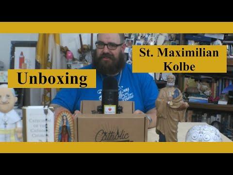 Catholic T-Shirt Club Unboxing: St. Maximilian Kolbe