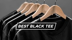 THE PERFECT BLACK TEE | Who Makes The Best T-Shirt?
