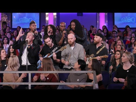 Robbyn Hart - Coldplay on Ellen