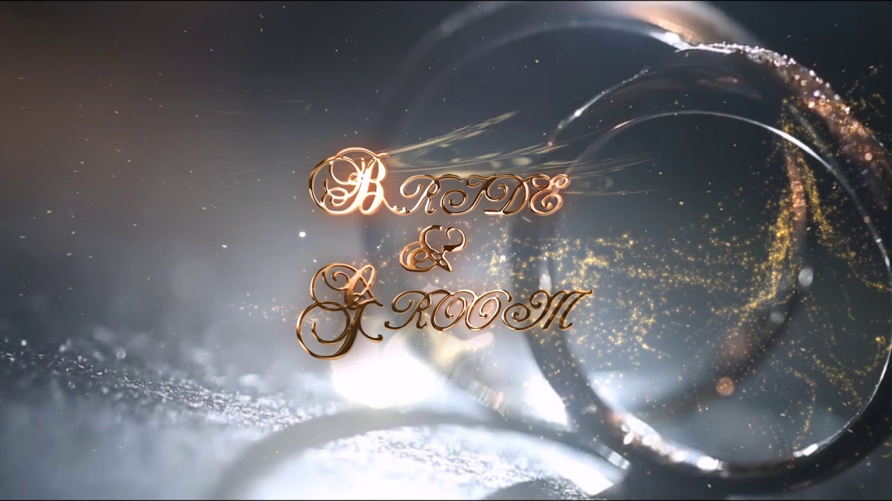 Wedding Intro After Effects Template Free Download - YouTube