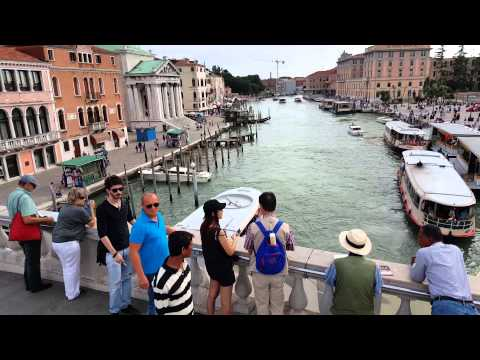 Venice Italy Canal Drone Panorama