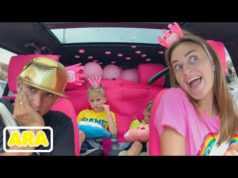 أطفال قصة مع نيكيتا وفلاد   نحن في السيارة