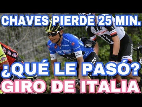 Esteban Chaves Pierde 25 Minutos En La Etapa 10 | Giro De Italia 2018