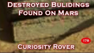 Destroyed Buildings Captured On Mars By Curiosity Rover