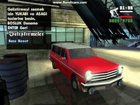 GTA San Andreas Araç Modifiye #1