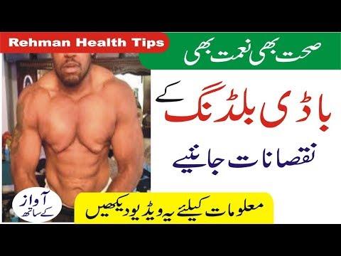 Bodybuilding | Gym ke nuksan | Bodybuilding Side Effects urdu | Rehman Health Tips