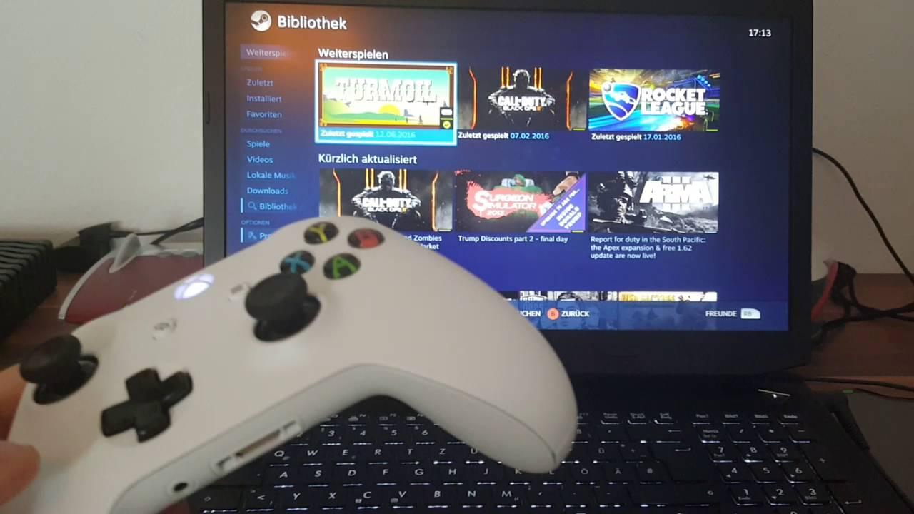 Xbox 360 Wireless Controller Mit Pc Verbinden