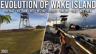 The Evolution of Wake Island in Battlefield