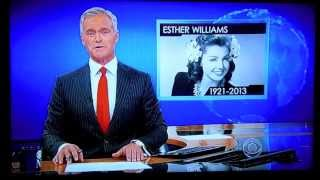 CBS Evening News pays tribute to Esther Williams