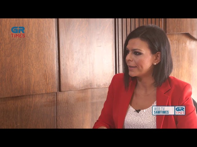 O Υπουργός Εσωτερικών Τάκης Θεοδωρικάκος στο GRTimes.gr 12.11.2019