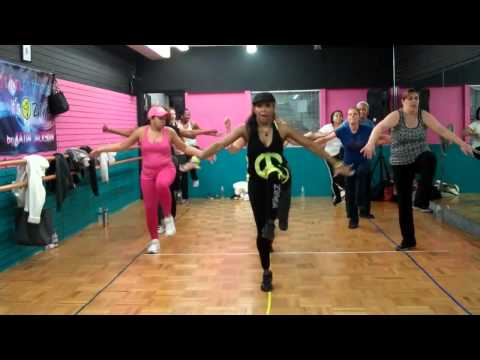 Katia Jackson Fitness – Zumba Hip Hop Routine – DA WOP