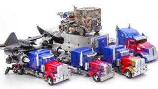 Transformers Movie 1 2 3 4 5 Jetwing Jetpower Evasion Night Optimus Prime Truck Car Robots Toys