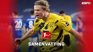 ONGELOOFLIJK! 👽 Haaland is buitenaards! | Samenvatting Schalke 04 - Borussia Dortmund
