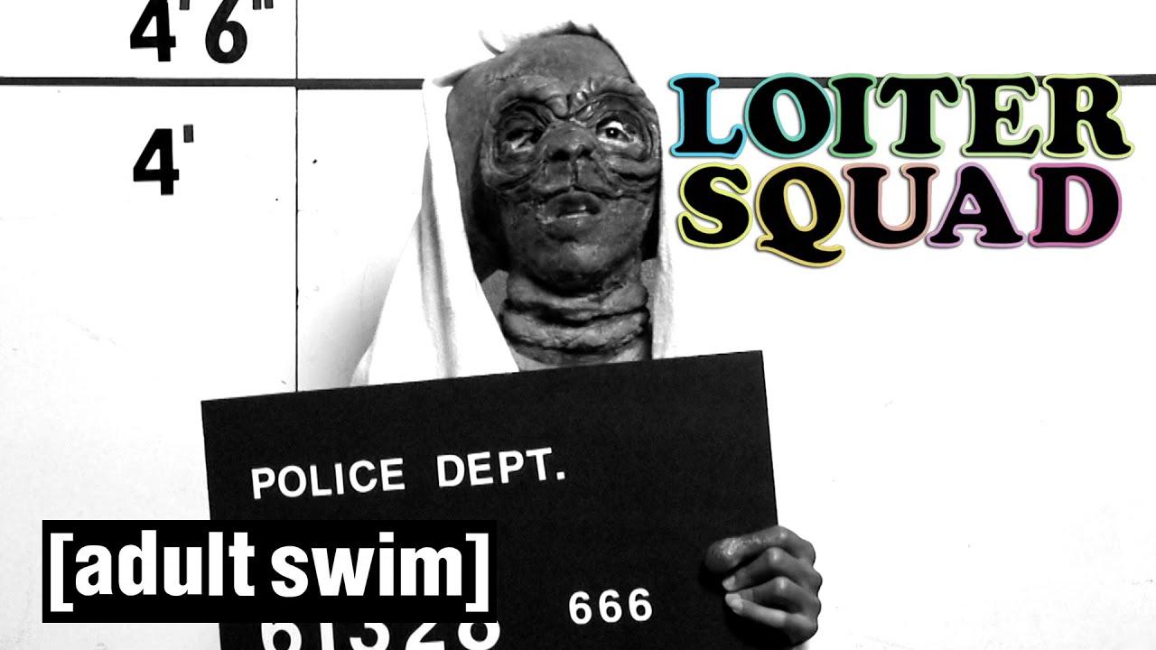 Loiter Squad   E.T. Incarcerated   Adult Swim UK 🇬🇧
