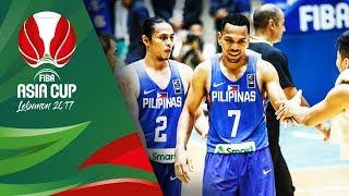 Top 5 Plays - Day 2 - FIBA Asia Cup 2017