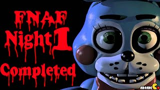 Five Nights At Freddy's 2 - Night 1 Completed Top One Scary Prank Jumpscare Game Of 2014