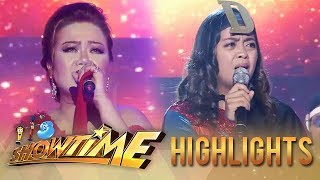 Gambar cover Dulce and Donna Cariaga return for another 'hugot' filled performance   It's Showtime