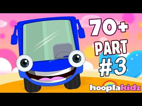 Wheels On The Bus | Part 3 | Plus More Nursery Rhymes And So