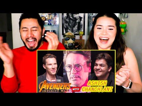 ASHISH CHANCHLANI | Avengers Infinity War | Reaction | Jaby Koay!