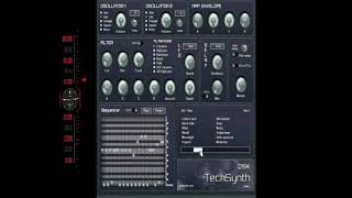 FREE VST -DSK TECHSYNTH PRO- SOUND DEMO