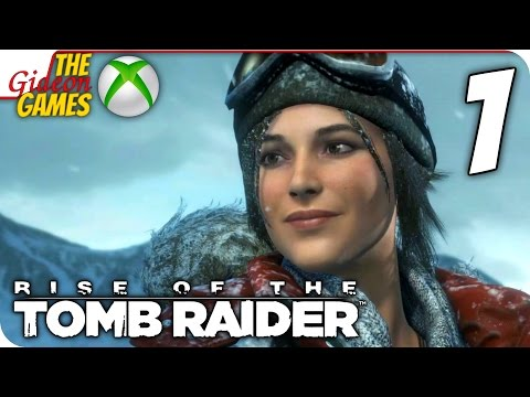 Прохождение Rise Of The Tomb Raider на Русском [XBOne] - #1 (Объятья Сибири)