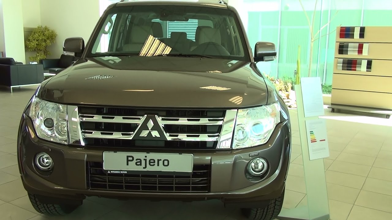 mitsubishi pajero 32 di d instyle at exterior and interior in full hd 3d youtube