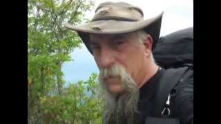 Backpacking the Appalachian Trail from Betty Creek Gap to Hot Springs NC