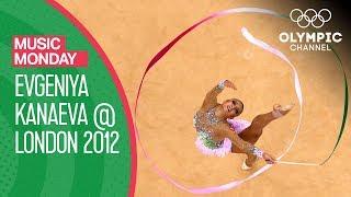 "Evgeniya Kanaeva's beautiful Rhythmic Gymnastics Routine to ""Fantasie Impromptu"" | Music Monday"