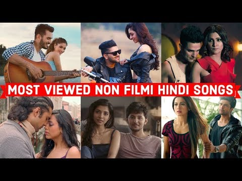Top 20 Most Viewed Non Filmi Hindi Songs on Youtube of All Time   Hindi Pop Songs