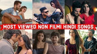 Download Video Top 20 Most Viewed Non Filmi Hindi Songs on Youtube of All Time | Hindi Pop Songs MP3 3GP MP4