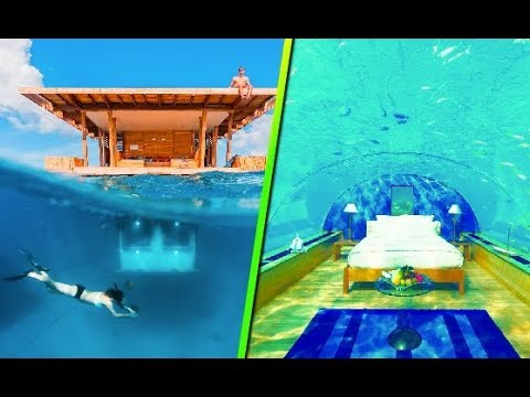 impresionantes hoteles bajo el agua youtube On los mejores hoteles bajo el agua