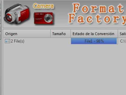 Tutorial: Unir videos con Format Factory 2.30