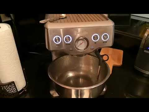 decalcify and clean breville espresso/frother machine, pt. 2