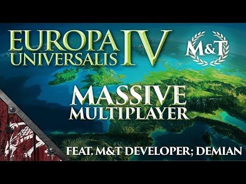EU4 M&T MASSIVE MULTIPLAYER SEASON 2 SESSION 1! (Part 1)