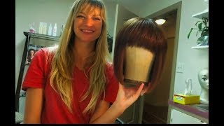 HOW TO WASH AND STYLE HUMAN HAIR WIGS!