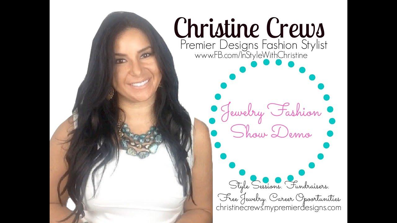 Christine crews premier designs fashion demo video youtube christine crews premier designs fashion demo video reheart Images