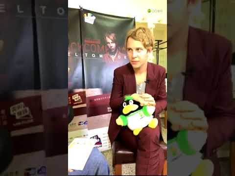 [CLEAR VERSION] Tom Odell Live Interview with QQ Music