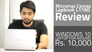 Micromax Canvas Lapbook L1160 Review