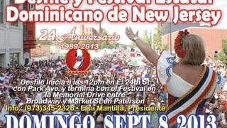 Desfile & Festival Estatal Dominicano de New Jersey 2013 (Paterson ,NJ) -TV Comercial
